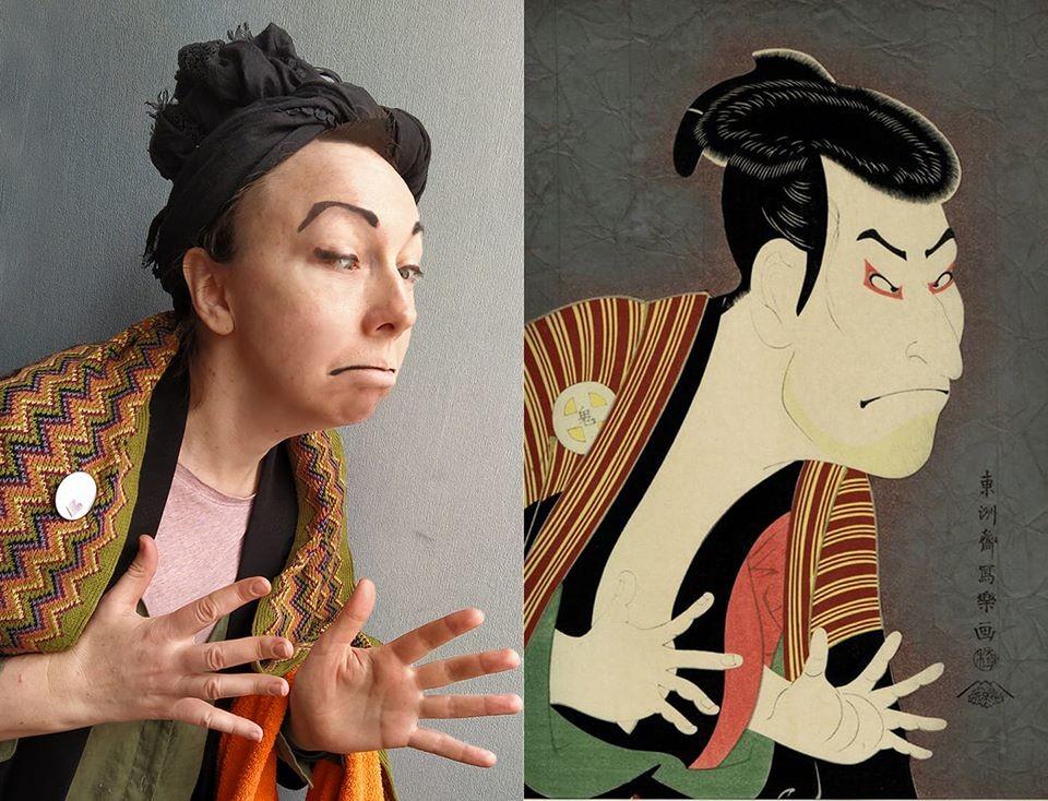 L'acteur Otani Oniji III dans le rôle de Yakko Edobei, Sharaku