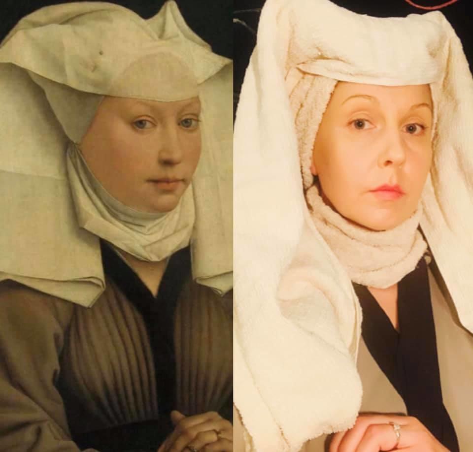 Portrait d'une femme, Rogier van der Weyden