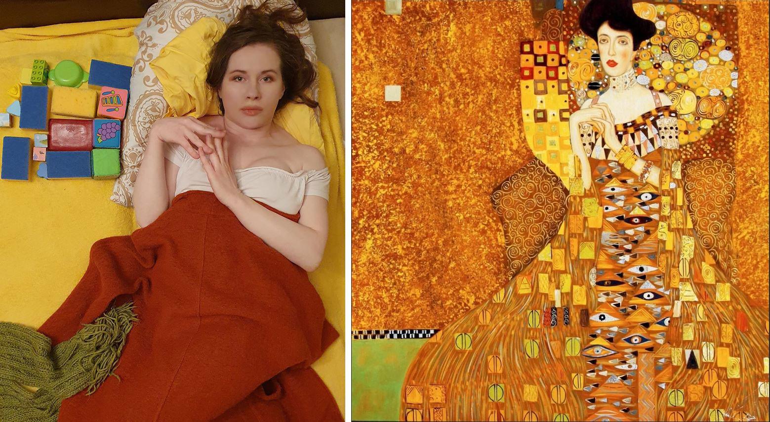 Portrait d'Adele Bloch-Bauer I, Gustav Klimt