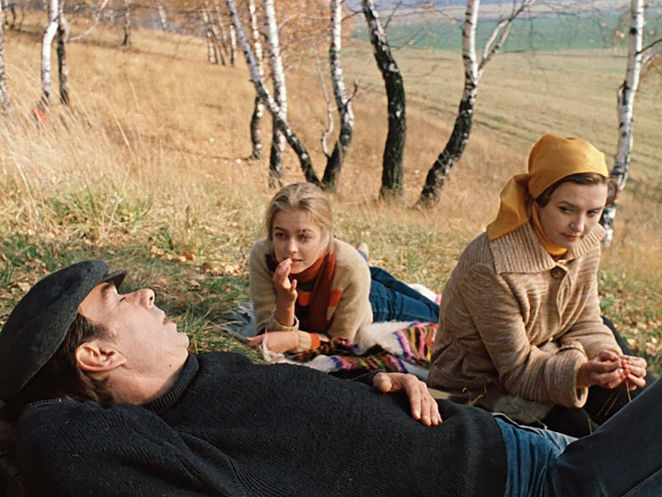 Una scena tratta dal film sovietico