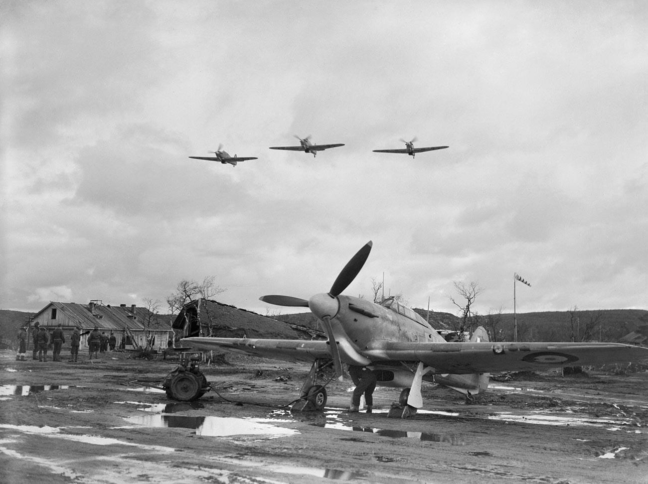 Британци недалеко од Мурманска, септембар - новембар 1941.
