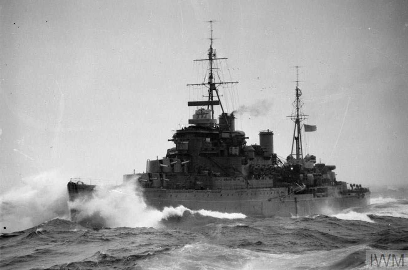 HMS Kenya v Severnem ledenem morju