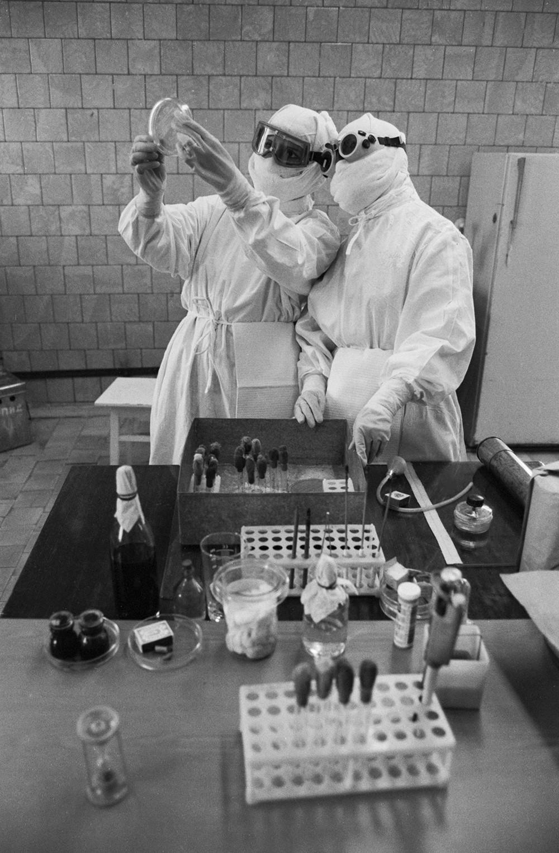Anti-plague institut in Volgograd.