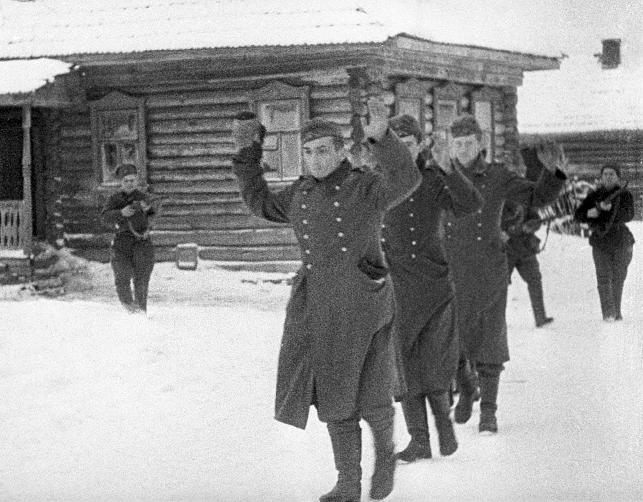 El Ejército Rojo contraataca en la batalla de Moscú