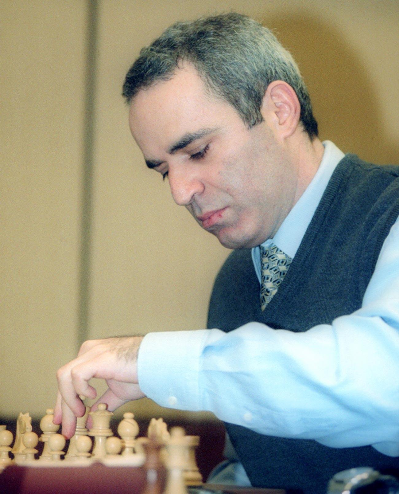 Ruski šahovski velemajstor Gari Kasparov