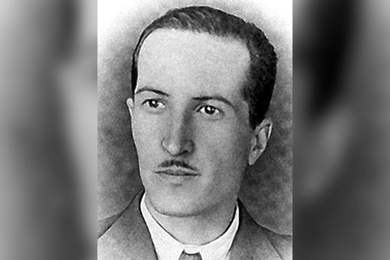 """Александар Петрович Демјанов (""""Хајне""""), тајни агент совјетске контраобавештајне службе."""