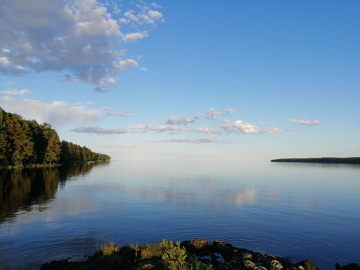 Lake Ladoga in Karelia - a place that Elliot enjoyed a lot