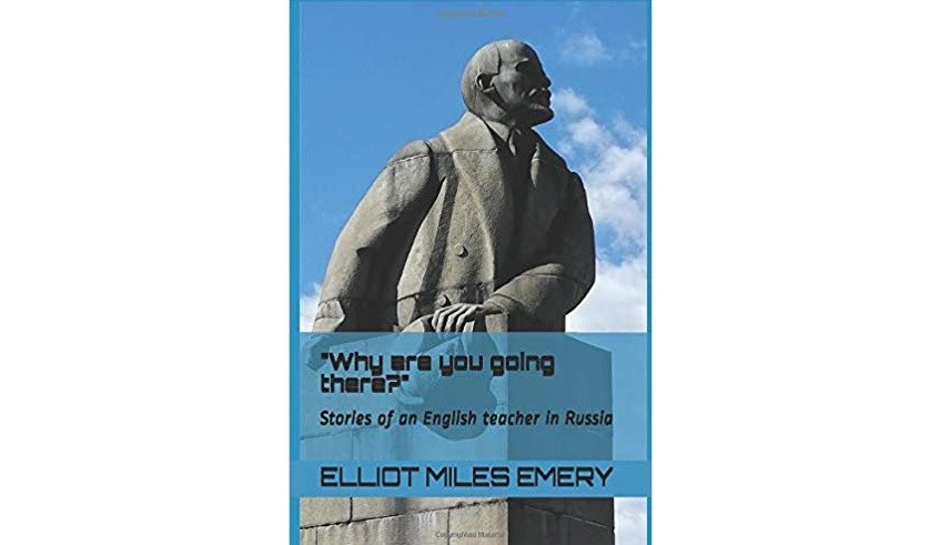 Book cover - Elliot Emery. Why are you going there