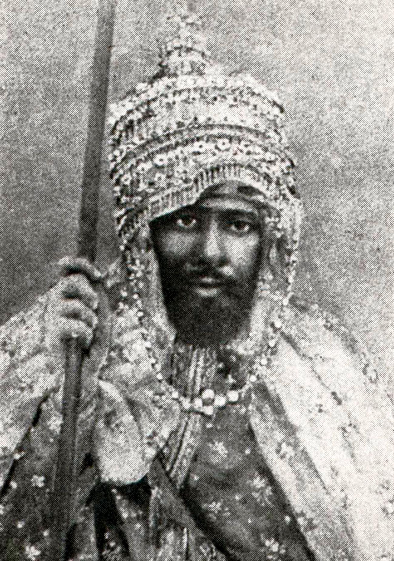 アビシニアの皇帝ヨハンネス4世