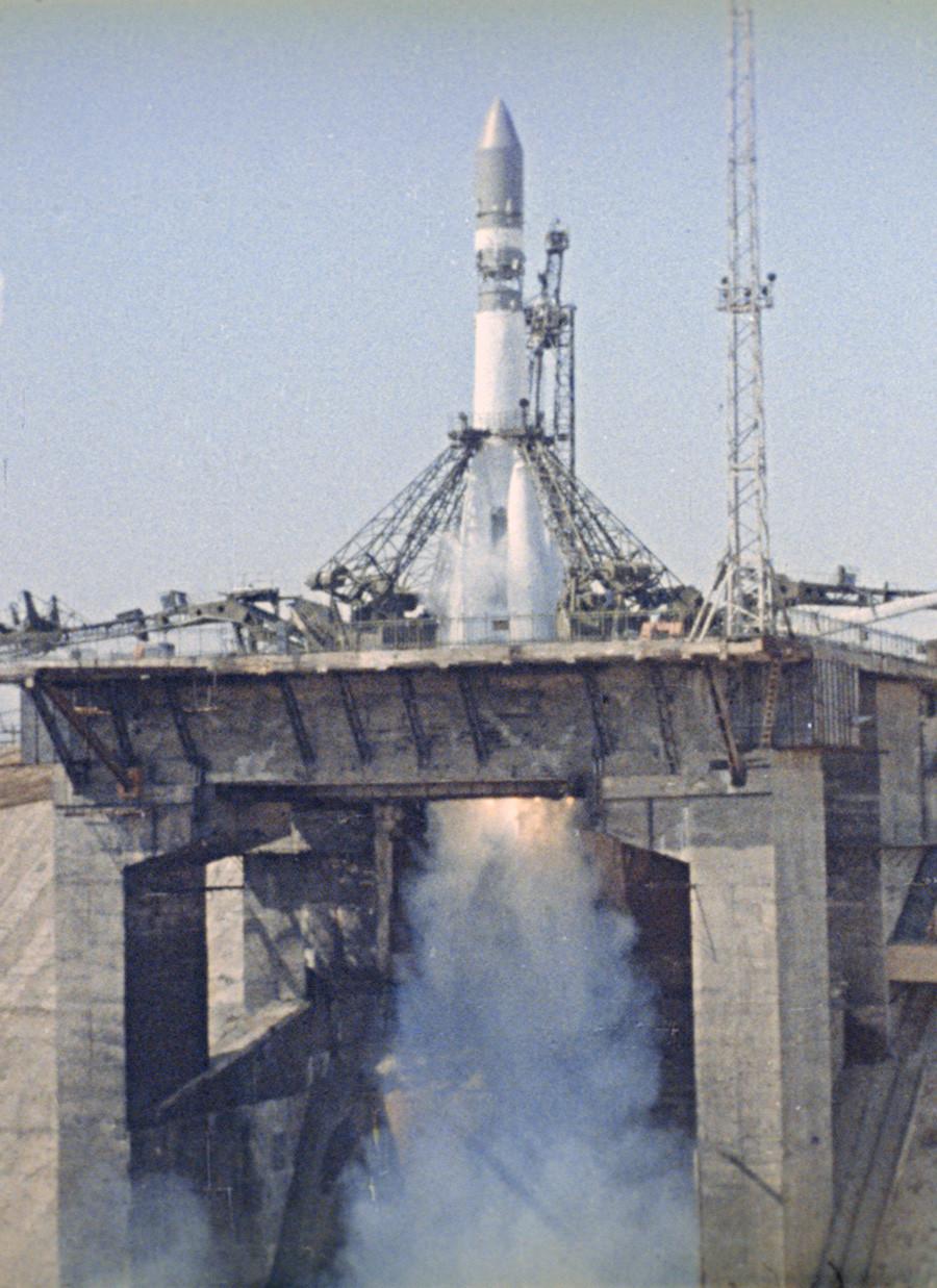 La nave Vostok-1