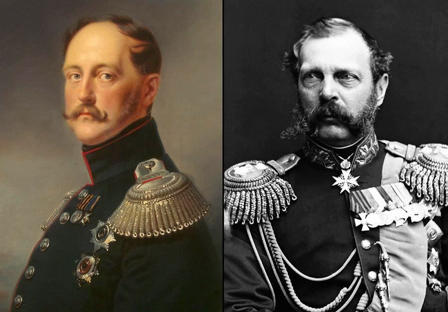 Николај Први; Александар Втори