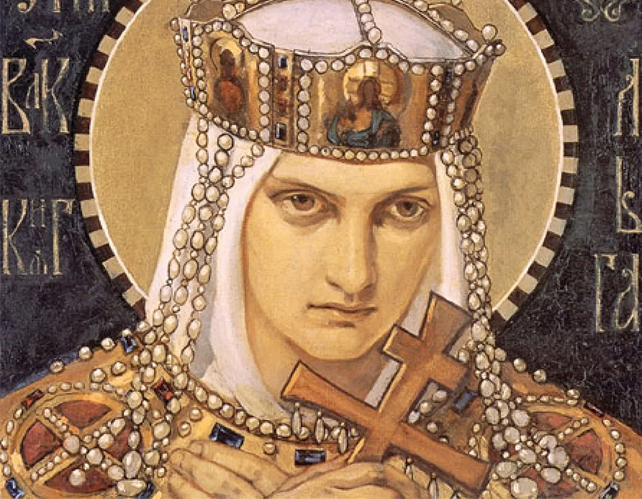 Olga de Kiev, par N. Brouni