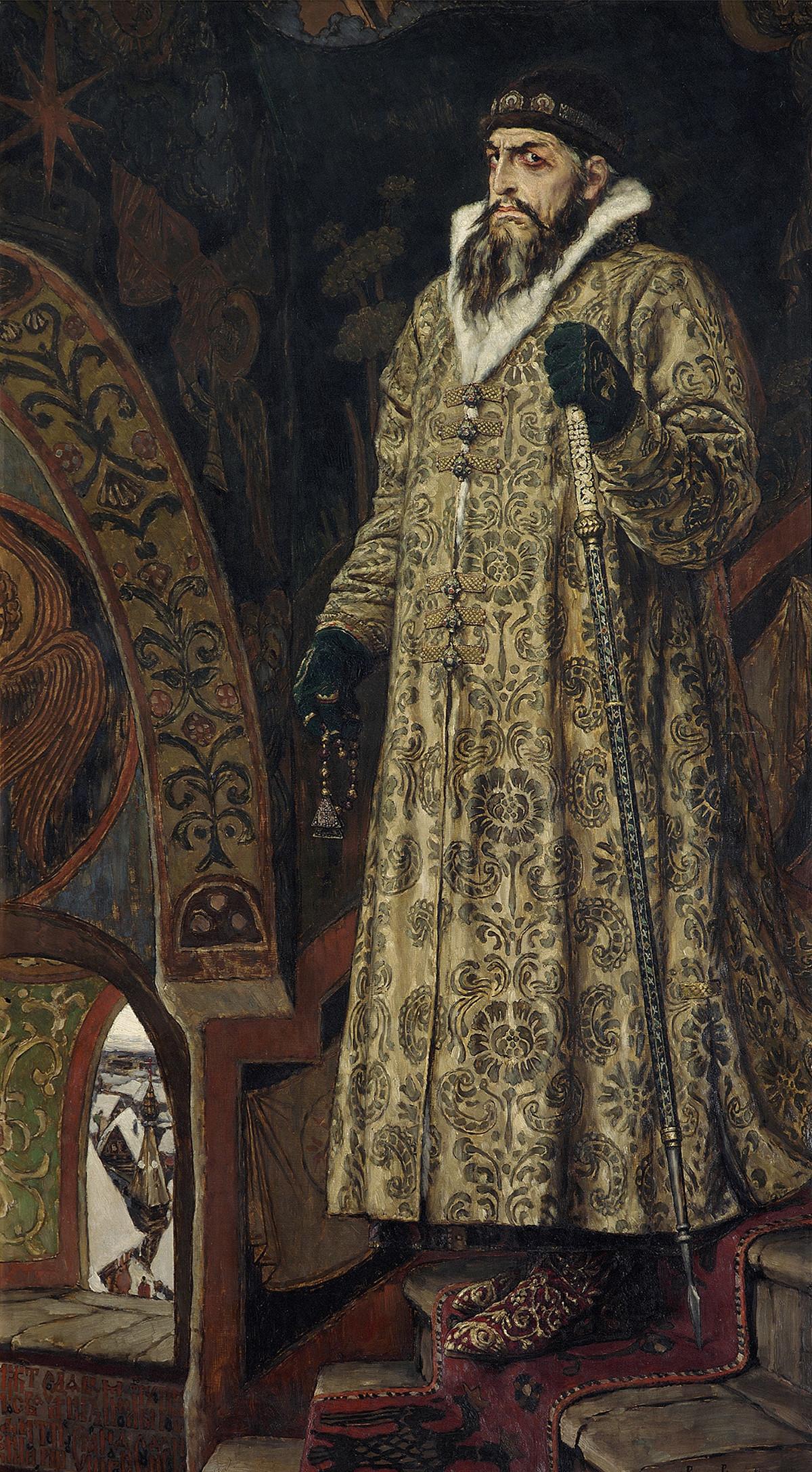 Ivan le Terrible, par Viktor Vasnetsov, 1897