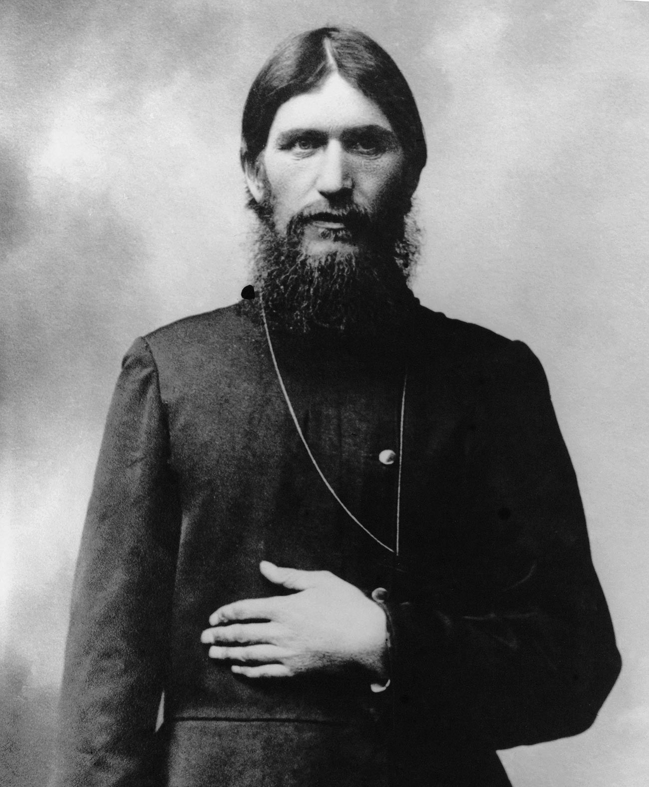 Grigoriy Rasputin in 1904. In this photo, he is 35.
