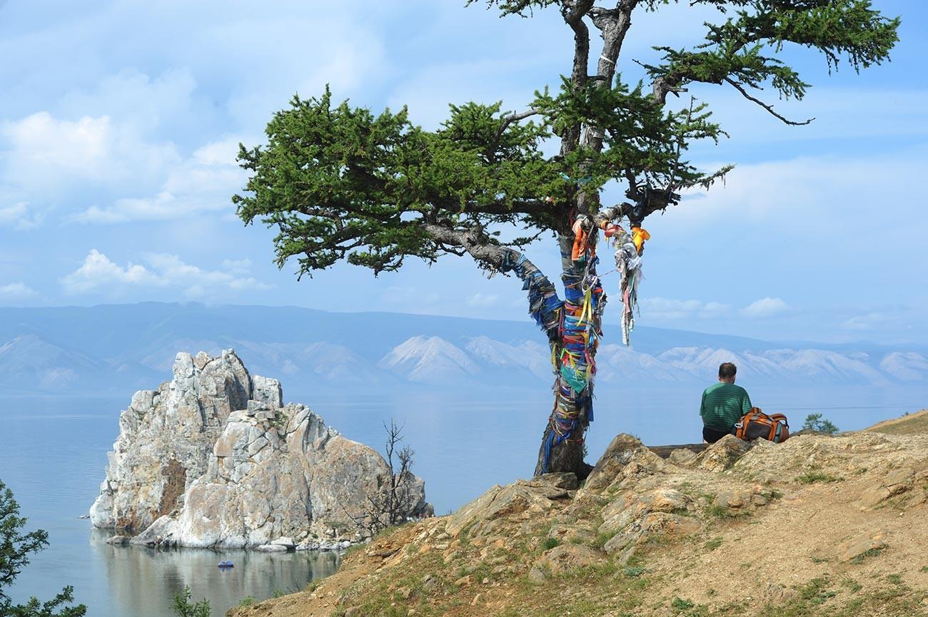 Île d'Olkhon, sur le Baïkal