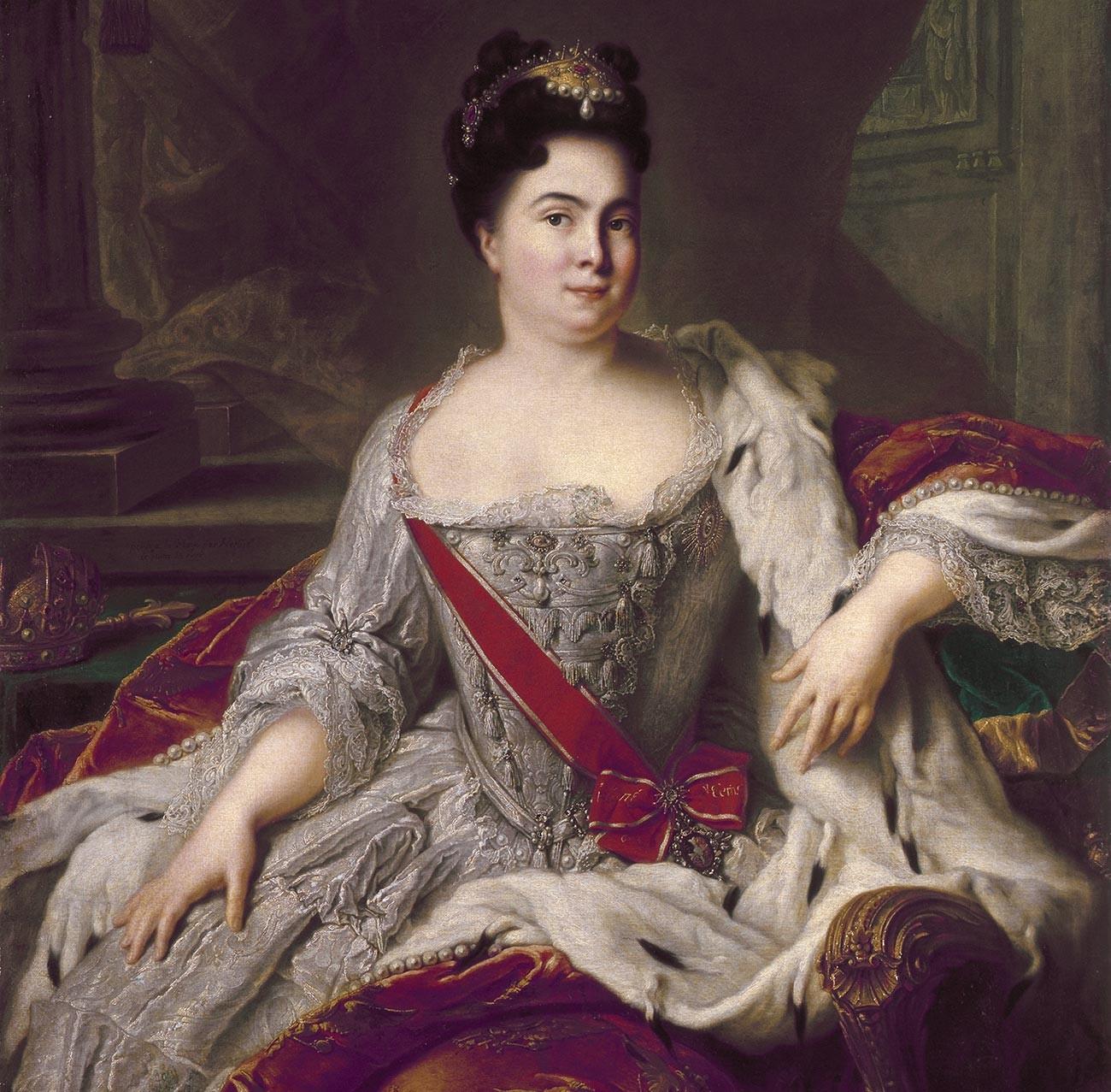 Portrait de Catherine Ière