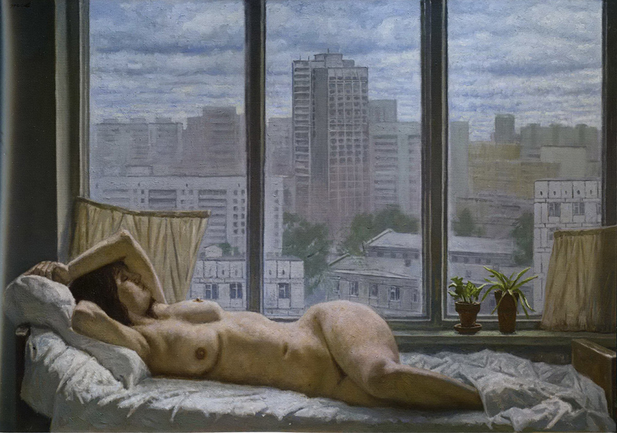 """""""Магливо утро"""" (""""Сиво утро""""), Гелиј Коржев, 2006."""