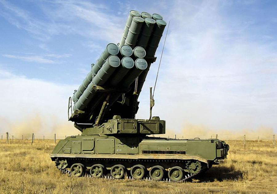 対空防衛システム「Buk-M3」