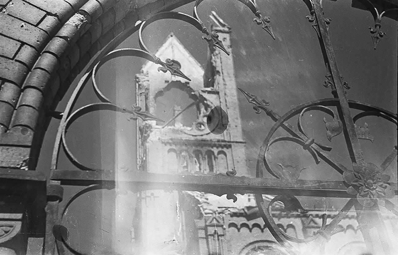Foto de Valeri Ginzburg. Berlín. Junio de 1945
