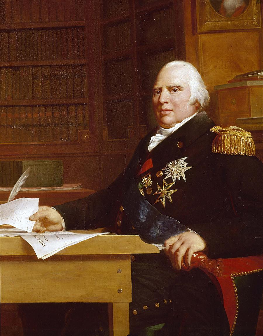 Louis XVIII par François Gérard