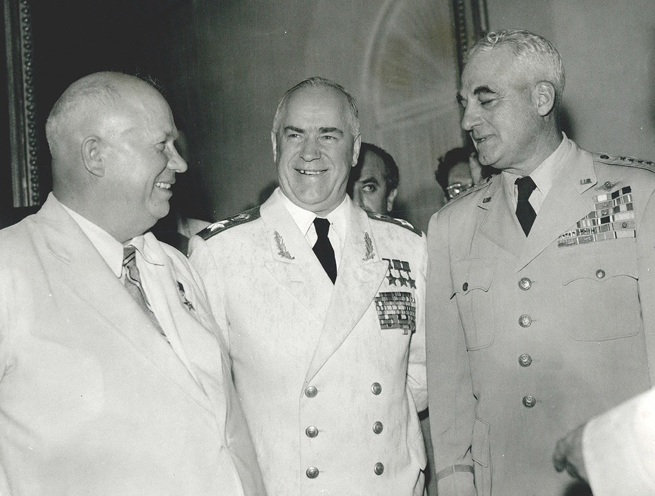 Hruščov i Žukov.
