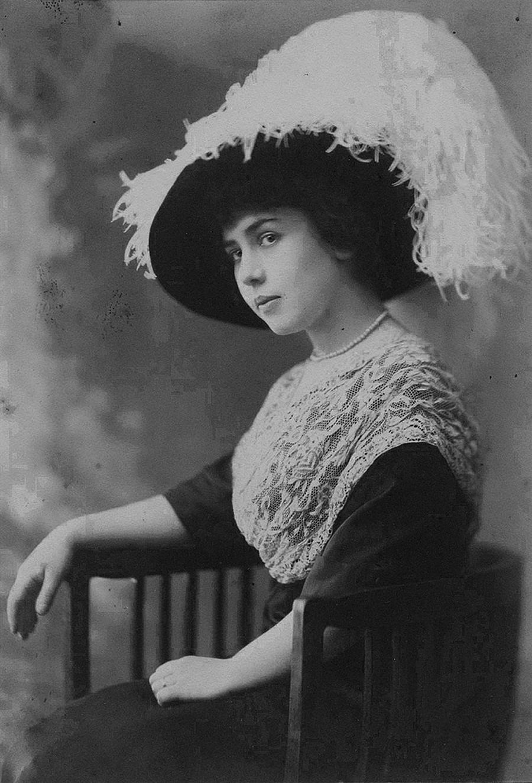 Ein Frauenporträt
