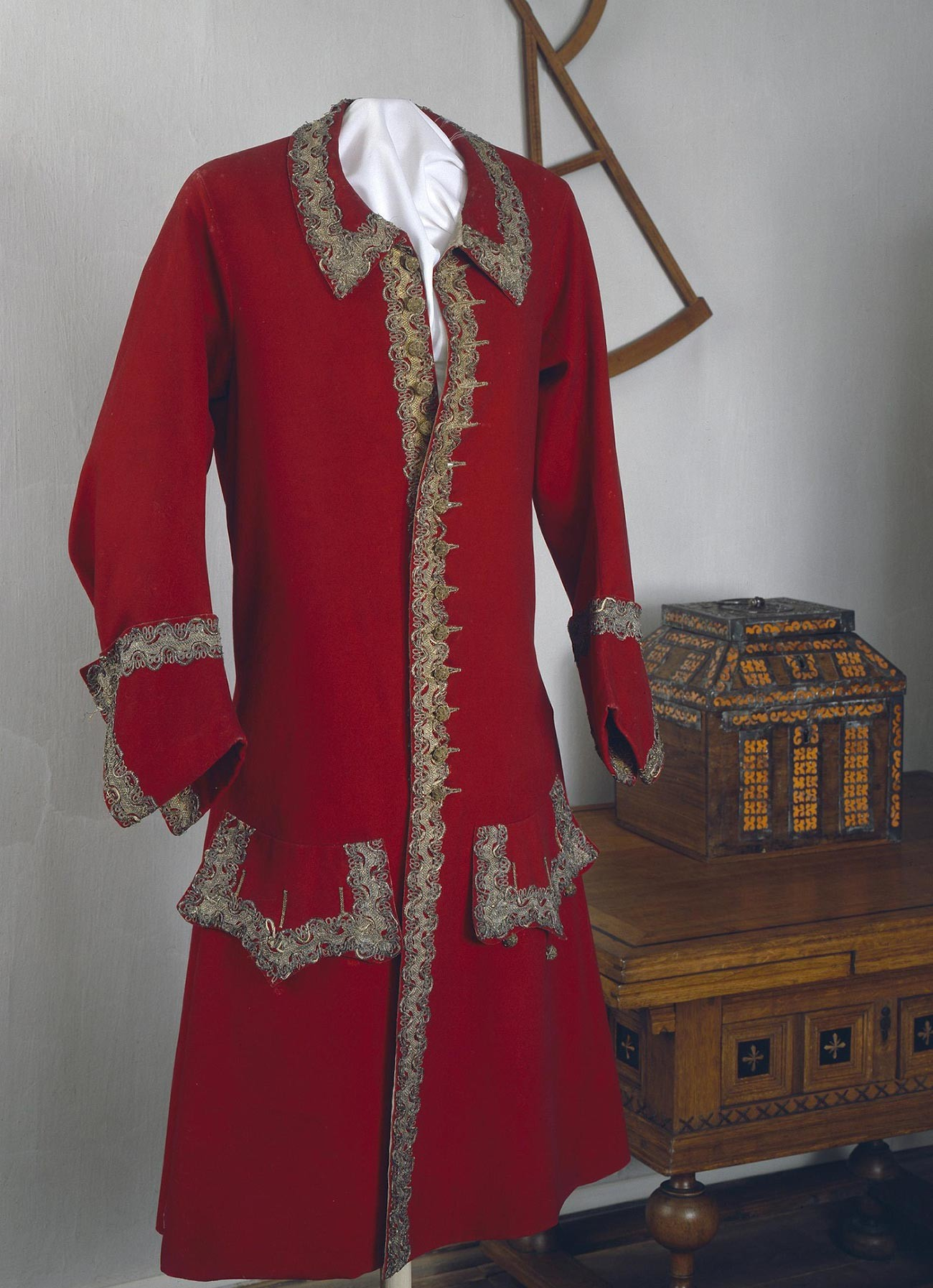 Peter the Great's ceremonial kaftan (a kind of jacket)