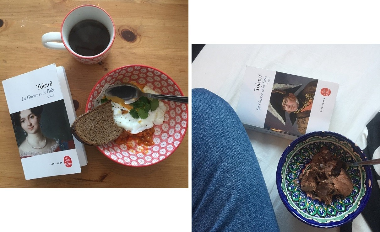 De la bonne nourriture et de passionnantes lectures, voici le remède de Manon pour lutter contre l'ennui en confinement.