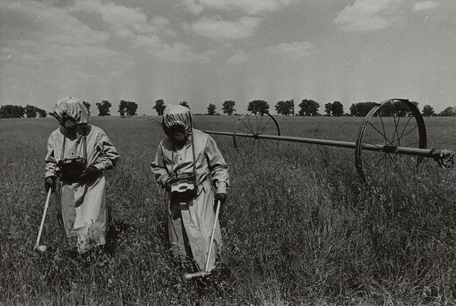 Merjenje sevanja v Černobilu, 1986