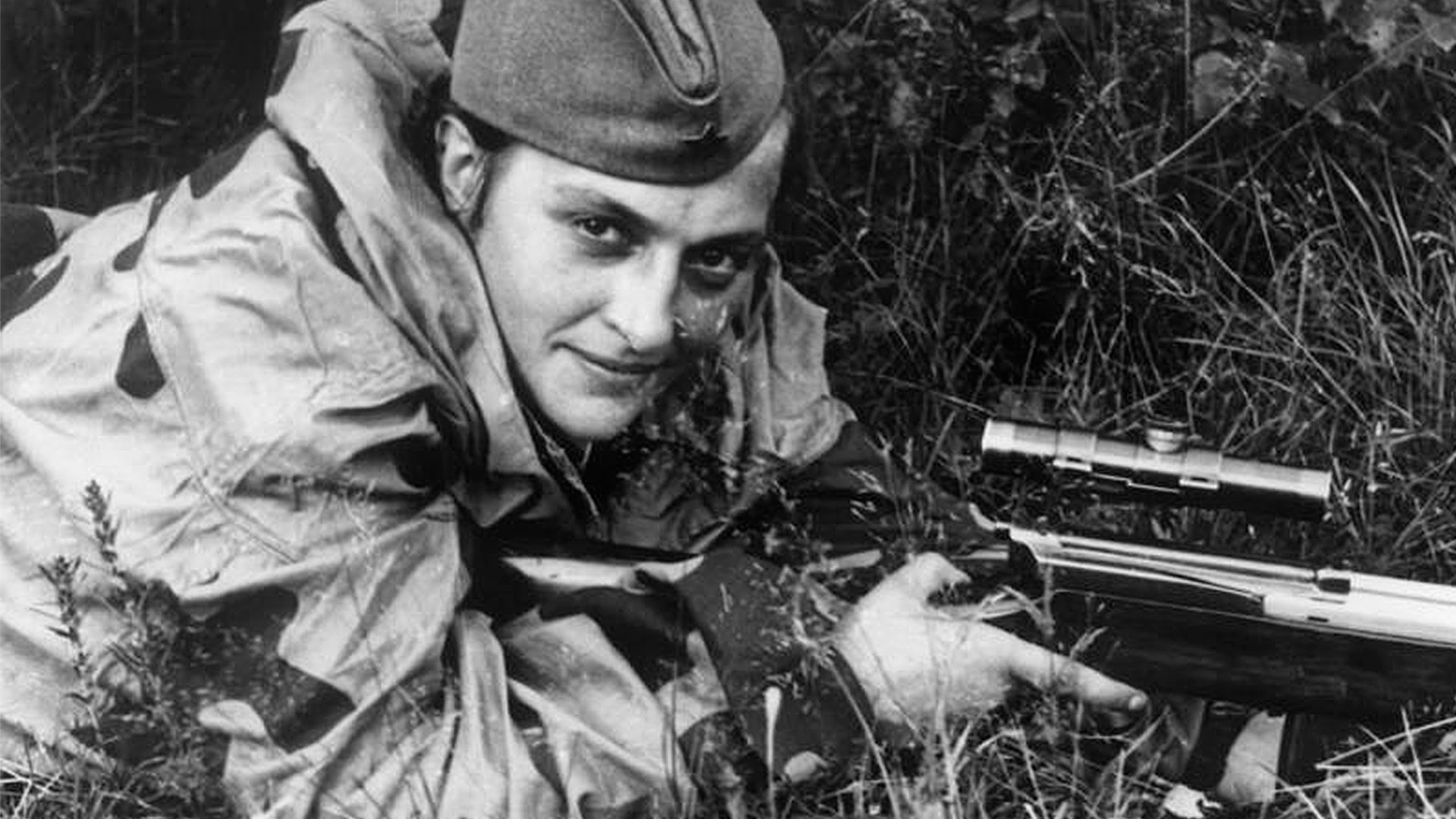 Снайперистката Людмила Павличенко