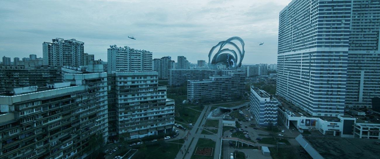 映画「アトラクション」からのセヴェルノエ・チェルタノヴォ風景