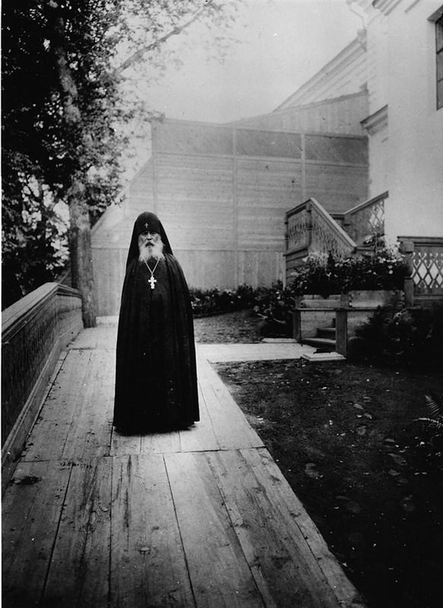 Ierofei, hegúmeno del monasterio de Sarov, 1900s