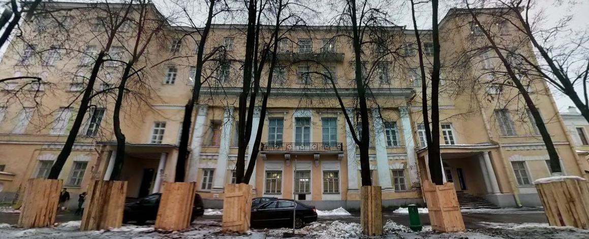 Дом на Волхонке.