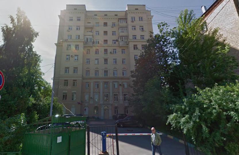 Вишняковский переулок.