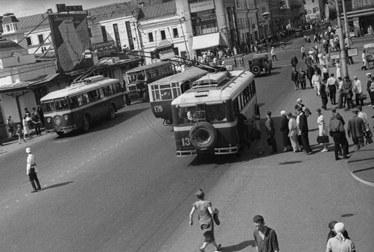 Trg Puškina, 1930. Moskva.
