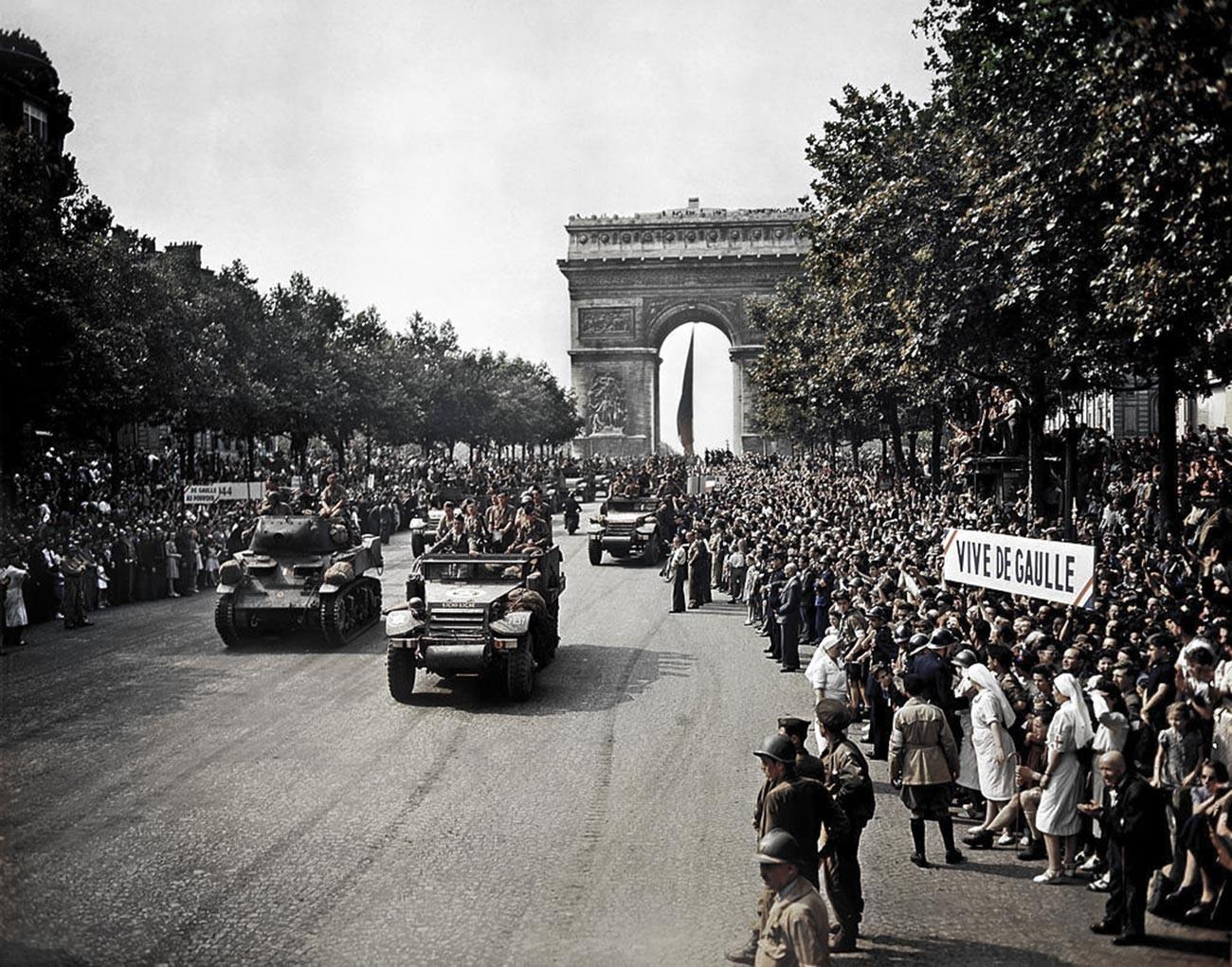 Die Befreiung von Paris