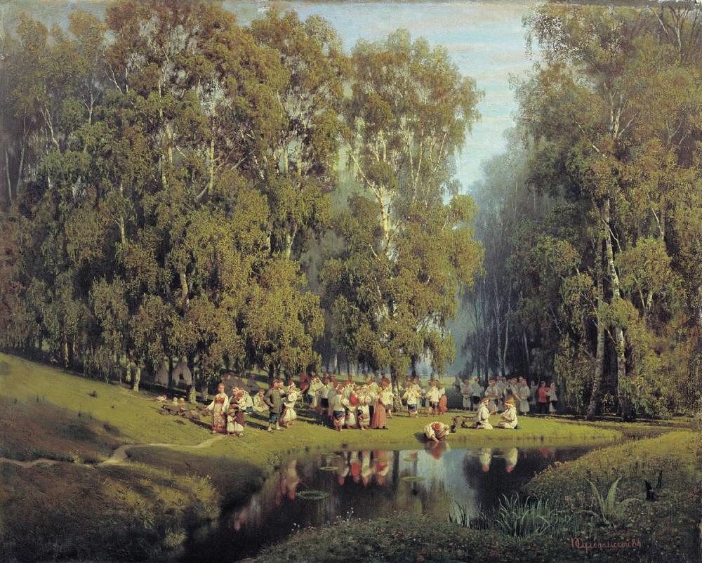 Суходолски П. Дан Свете Тројице. 1884