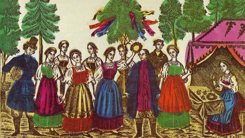Лубок. XIX век
