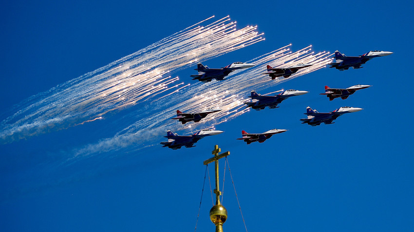 Rússia celebrará Dia da Vitória em 9 de maio com grande desfile aéreo
