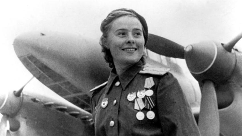 Maria Dolina, commandant par intérim d'un escadron du 125e régiment.