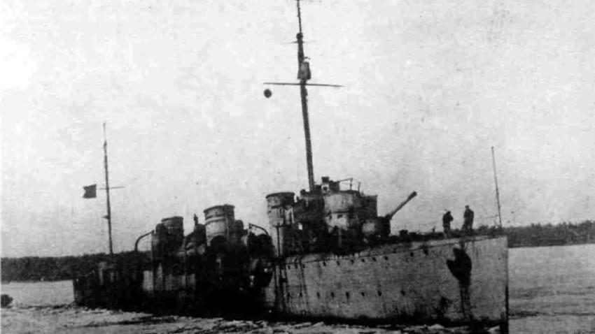 """Разрушителят """"Гавриил"""", април 1918 година"""