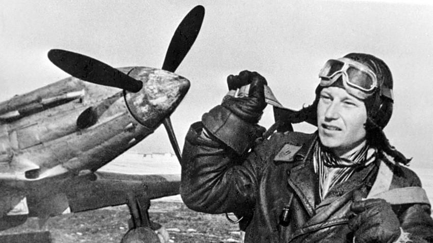 Heroi da União Soviética Aleksandr Pokríchkin