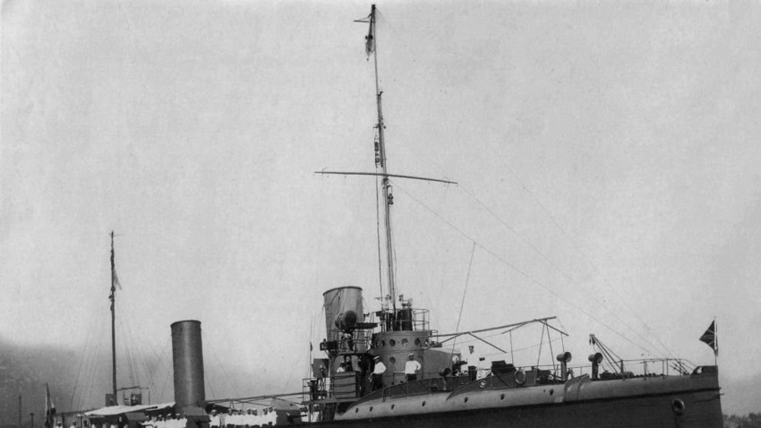Архивна снимка от руския и съветския ВМФ