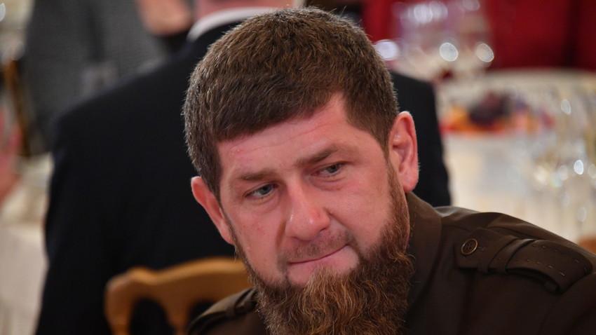 Pemimpin Republik Chechnya Ramzan Kadyrov