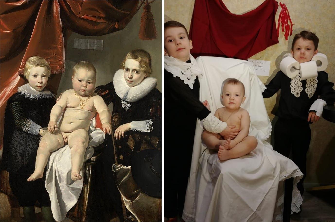 Thomas de Keyser, trois frères