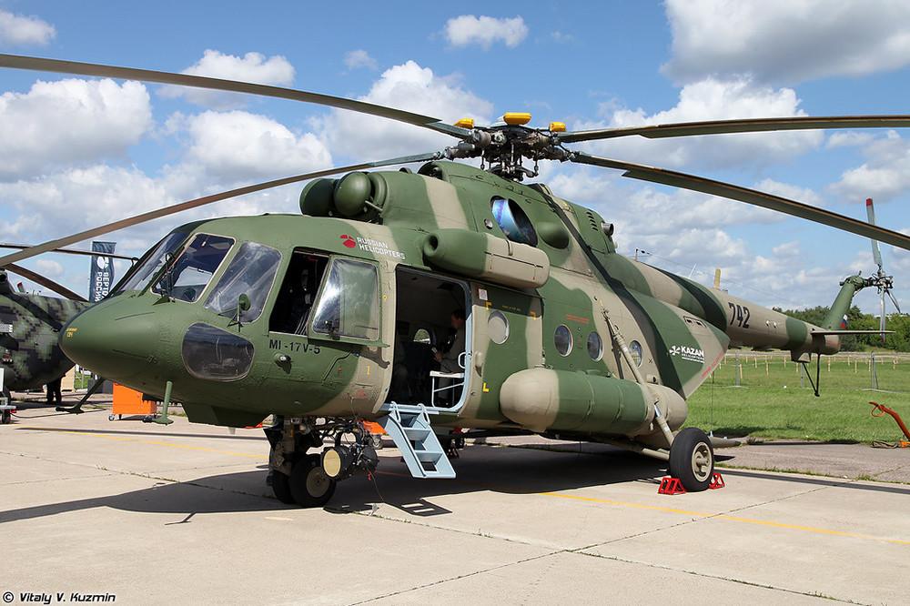 Mi-17V-5ヘリコプター