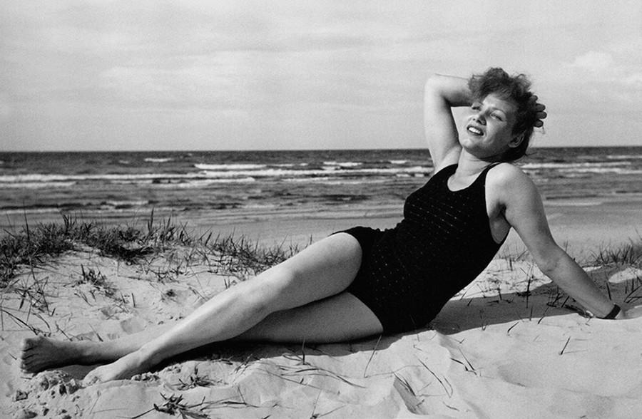 L'actrice Lidia Smirnova