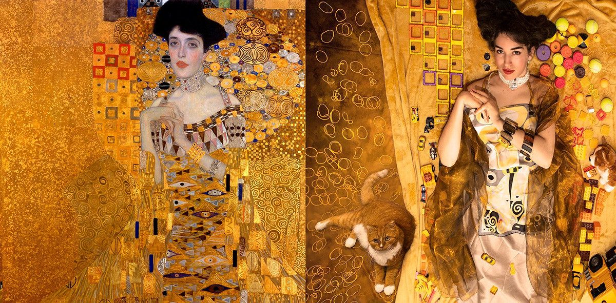 Gustav Klimt. Portrait of Adele Bloch-Bauer I a.k.a. The Lady in Gold