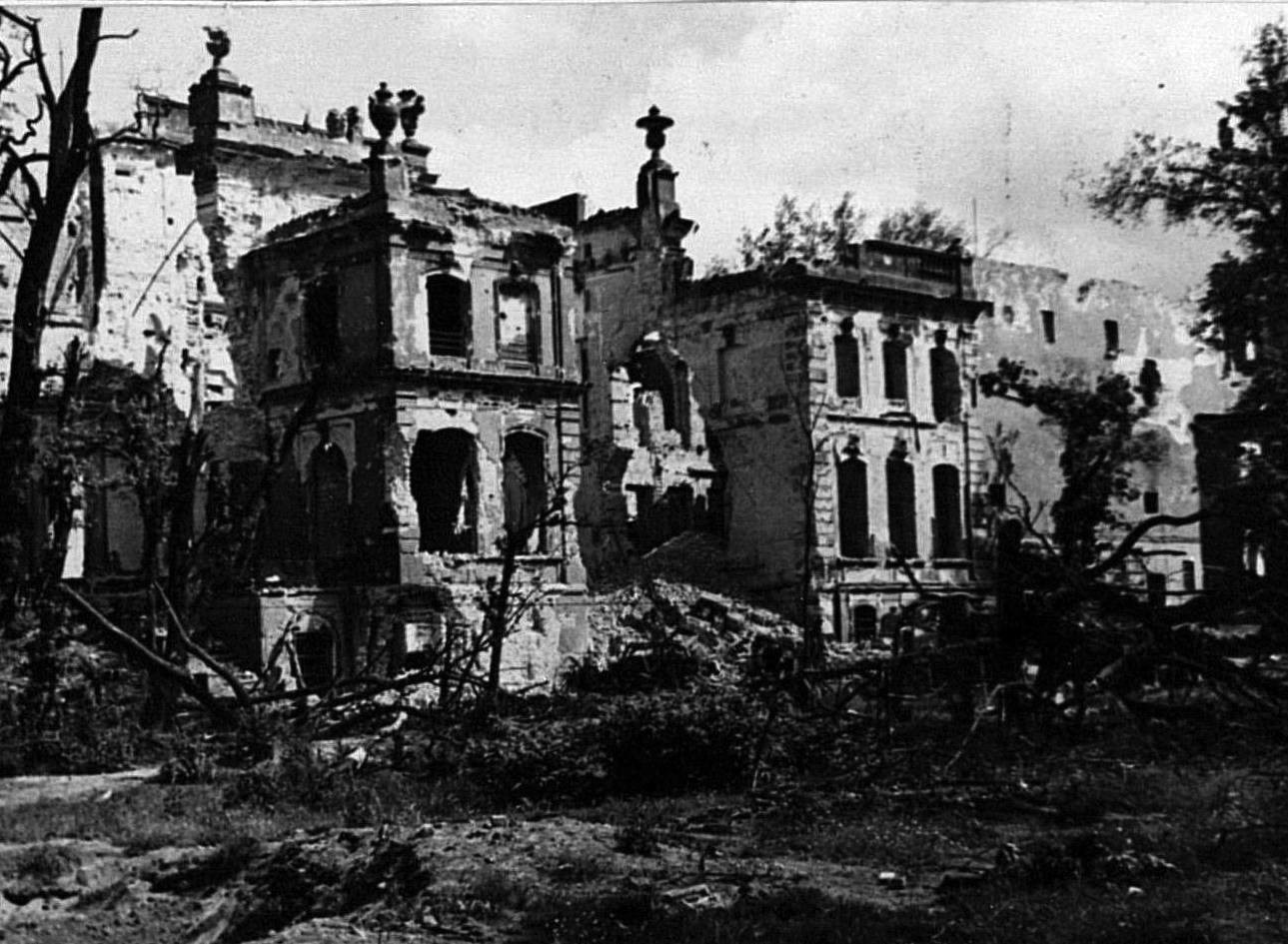 Edificio de la Gestapo.