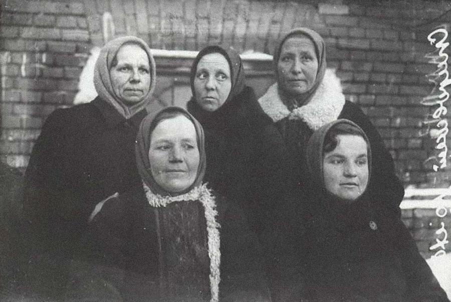 農村の女性たち